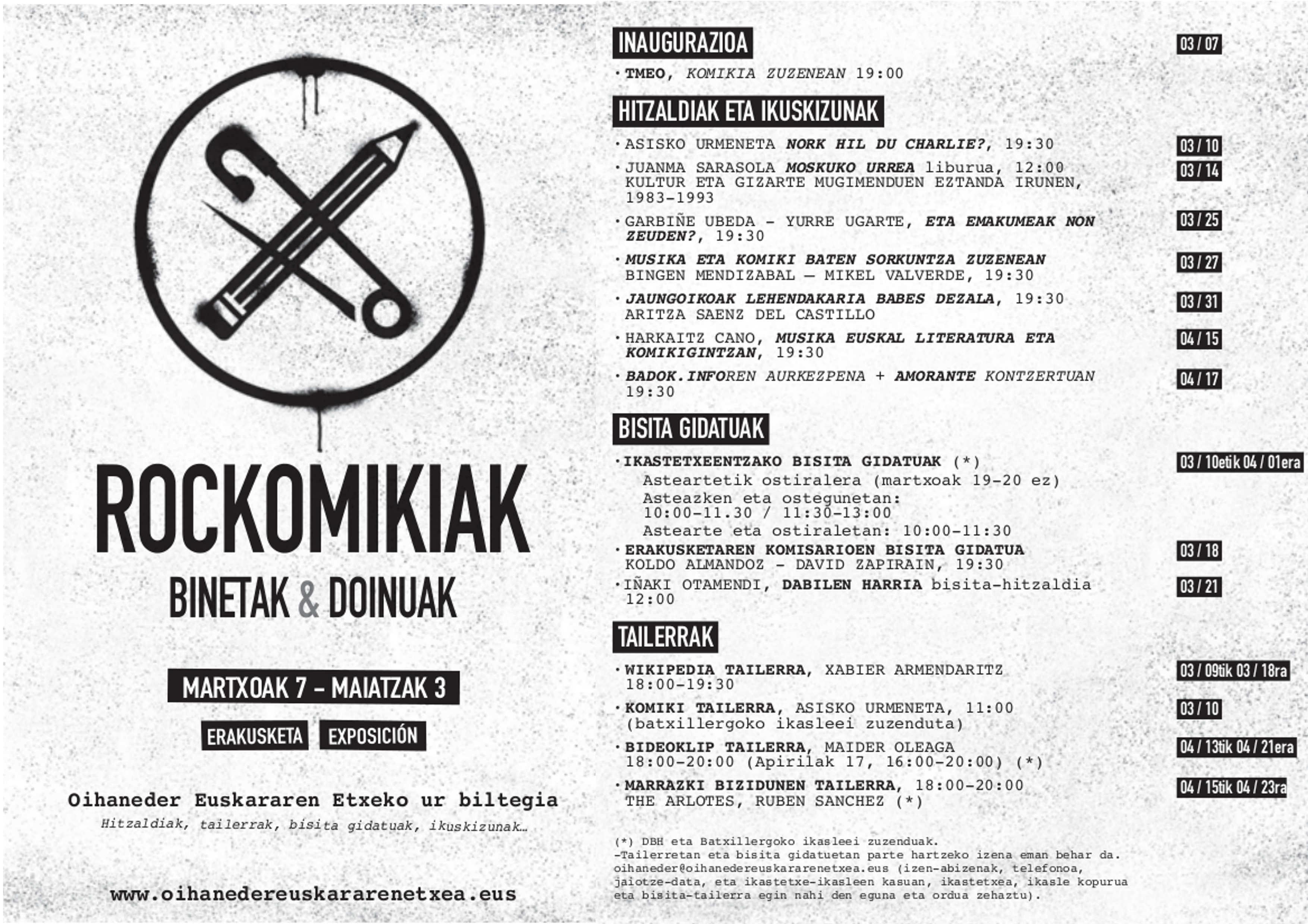 Rockomikiak_ekintzak